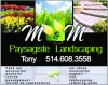 M & M Paysagiste Landscaping