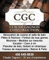 Claude Gagnon - Entrepreneur Général