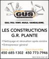 Constructions G.R. Plante