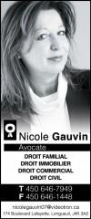 Nicole Gauvin Avocate