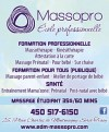 Massopro - École de Massothérapie