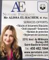 Alissa El-Hachem, Notaire, M. Fisc.