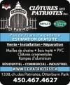 Clôtures des Patriotes