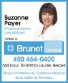 Pharmacie Suzanne Payer inc - Brunet Clinique