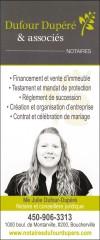 Dufour Dupéré & associés - Notaires