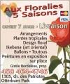 Aux Floralies 5 Saisons
