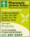 Pharmacie Jérémie Dufour PROXIM