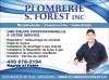 Plomberie S. Forest inc.