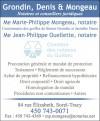 Grondin, Denis & Mongeau - Notaires et conseillers juridiques
