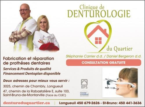 Denturologiste à St-Bruno