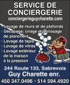 Service de Conciergerie Guy Charette