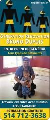 Génération Rénovation Bruno Dupuis