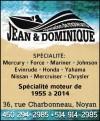 Jean & Dominique Réparation de moteurs