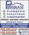 P. Bigras Plomberie Chauffage Climatisation