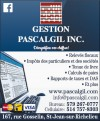 Gestion Pascalgil Inc - Comptable et Impôts