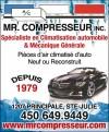 Mr. Compresseur inc.