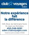 Club Voyages Éden