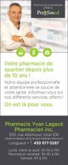 Pharmacie Yvan Lagacé - PROXIM