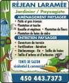 Réjean Laramée - Jardinier-paysagiste