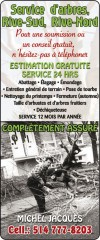 Arbres Services Rive-Sud - Rive-Nord