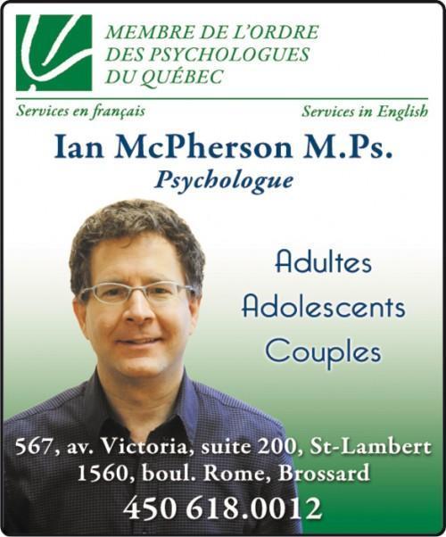 Psychologue à Saint-Lambert