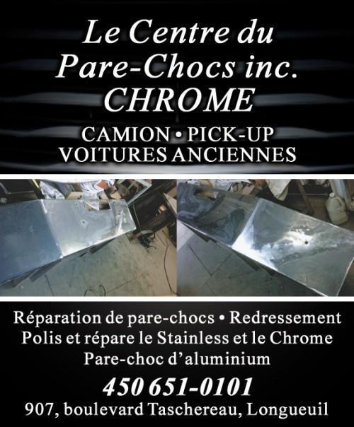 Pare-chocs et Grilles Longueuil