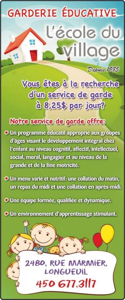 Garderie Éducative à Longueuil
