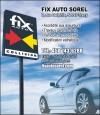 Atelier de carrosserie Fix Auto