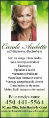 Carole Audette Esthéticienne