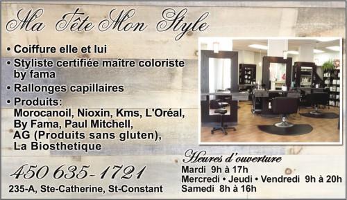 salon de coiffure LaPrairie