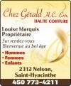 Chez Gérald Haute Coiffure enr.