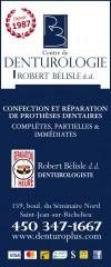 Robert Bélisle d.d. Denturologiste