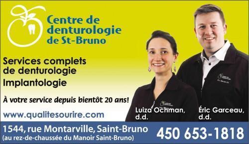 Denturologiste St-bruno