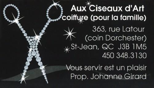 Salon de coiffure à Saint-Jean-sur-Richelieu