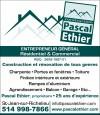 Construction Pascal Éthier