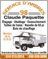 Service d'arbres 98 Claude Paquette