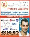 Service Patrick Lapierre