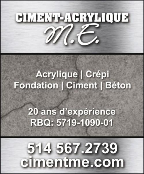 reparation crepi beton ciment acrylique