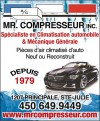 Mr. Compresseur inc.