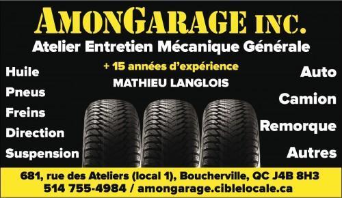 Atelier de réparation automobile AmonGarage Inc.