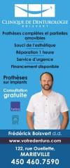Frédérick Boisvert Denturologiste