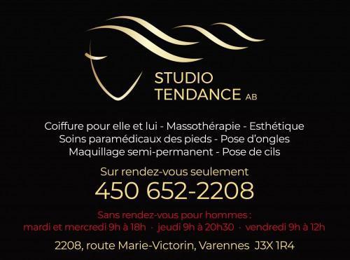 Studio Tendance AB Coiffure et Esthétique