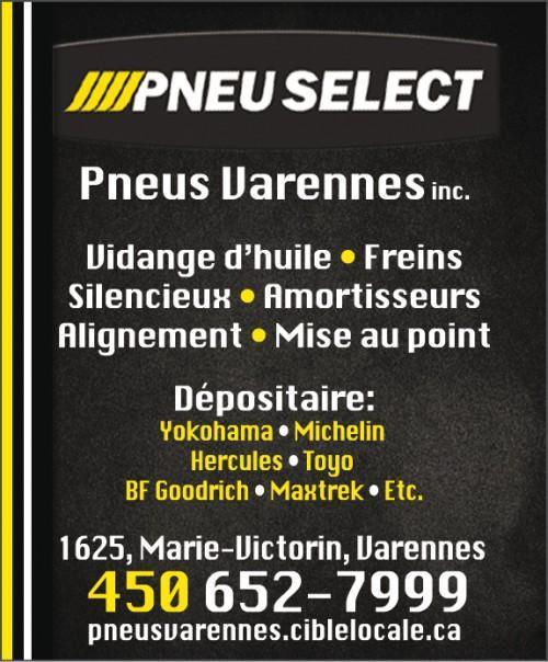Pneus Détaillant Varennes