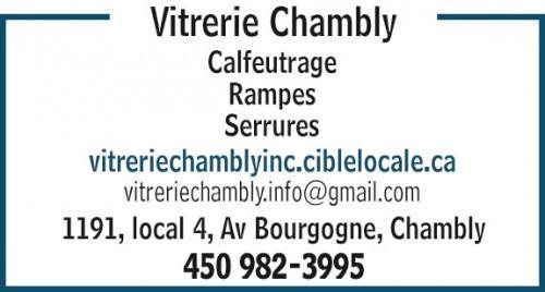 Vitreries générales Chambly