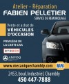 Atelier - Réparation Fabien Pelletier