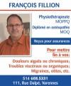 François Fillion Physiothérapeute