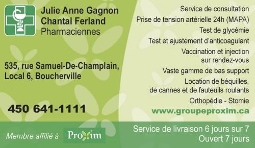 Pharmacie Boucherville