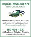 Impôts MC Béchard